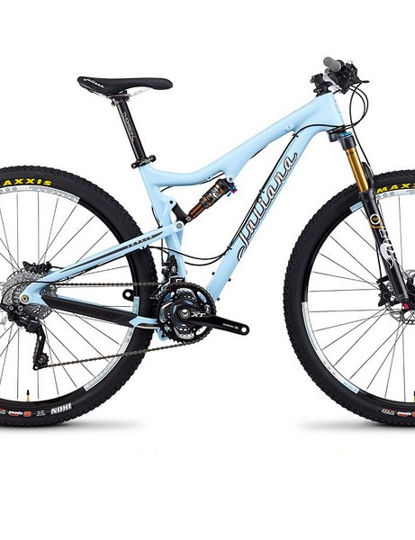Joplin Primeiro. Carbon 29er full suspension bike, benefits from Santa Cruz's Virtual Pivot Point (VPP) suspension design. Comes in 3 different spec models - Terco, Segundo and Primeiro