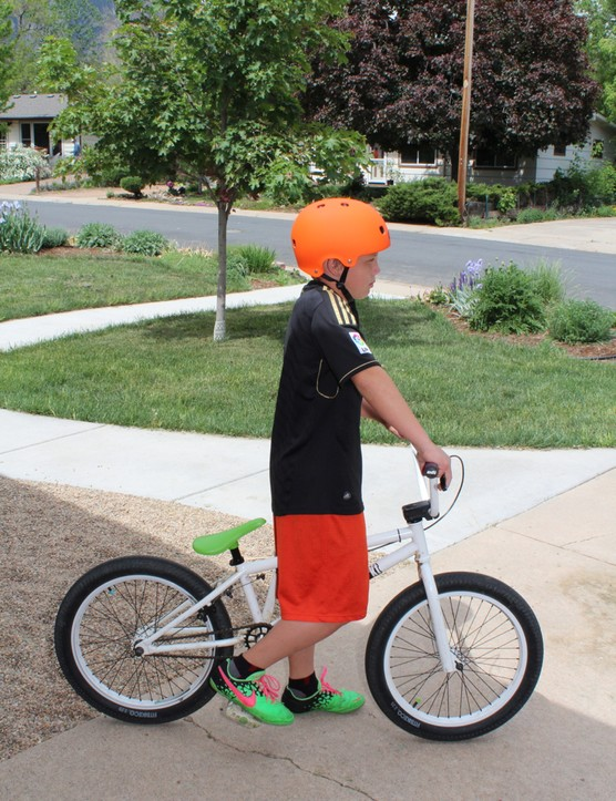 The bright design of the new Segment BMX lid seems in-line with the target audience
