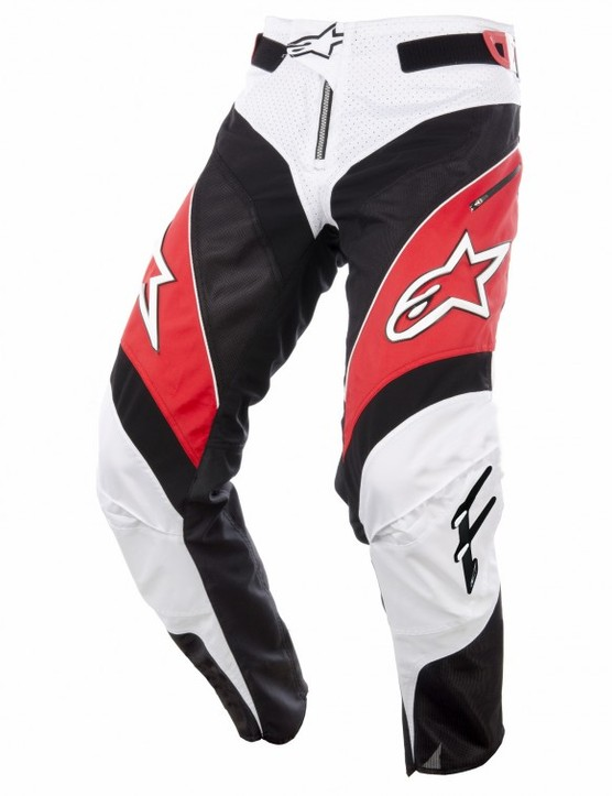 The Alpinestars A-Line Pants feature a moto-like look but materials and flexibility more befitting use on a mountain bike