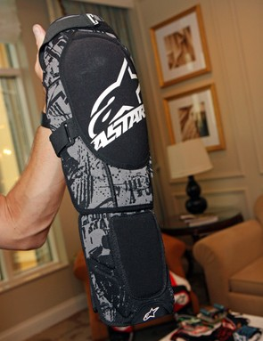 The Alpinestars Alps softshell knee pads are lightweight and flexible, plus you can add shin guards for additional protection as needed