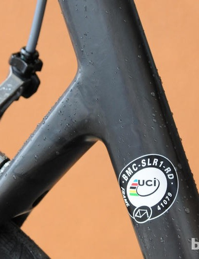 The SLR01 is UCI approved