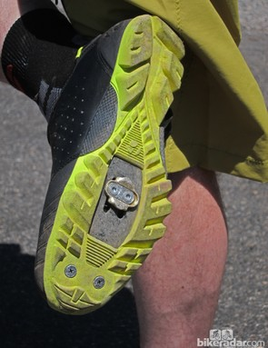 The upcoming Bontrager Rhythm shoes feature a full tread for safer scrambling