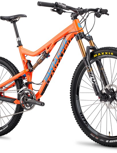 Santa Cruz Bicycles has launched yet another 27.5in-wheeled machine - this time an evolution of the venerable Blur TRc called Solo