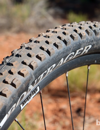 Bontrager's mountain bike tires have definitely made big steps forward in the past couple of years, largely due to the efforts of Frank Stacy