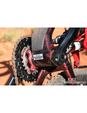 Trek has finally figured out how to incorporate ISCG tabs into its BB95 bottom bracket shells