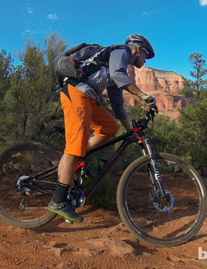 We tested Trek's new Fuel EX 29 9.8 in Sedona, Arizona, where the big wheels and capable suspension steamrolled most trail obstacles