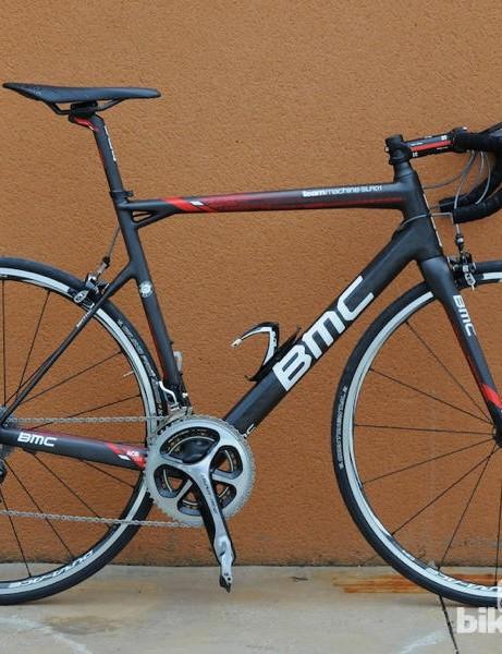 BMC TeamMachine SLR01 is the Swiss company's new flagship racing bike
