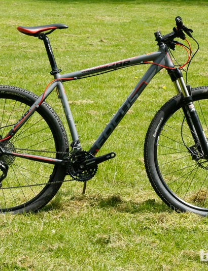 The Focus Black Forest 29er 3.0, which sits in the middle of their big-wheel Black Forest range