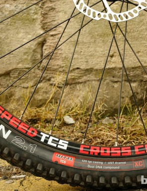 WTB also supply the rims, and Bronson tyres