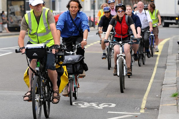 More people cycling to work boosts productivity, say Sustrans