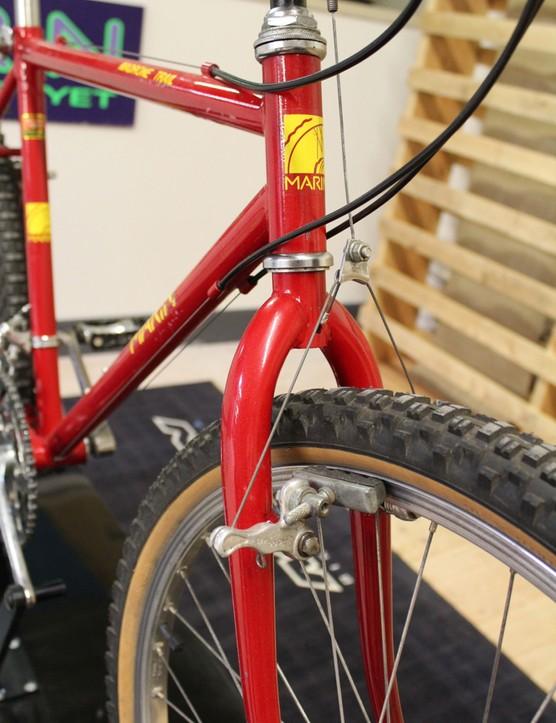 An all-mountain bike, circa 1986