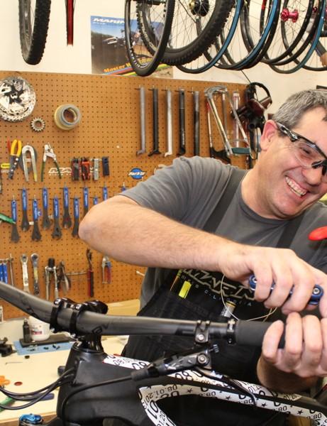 Veteran wheelbuilder Steve