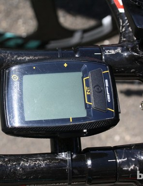 Sergey Lagutin (Vacansoleil-DCM) is using a CycleOps Joule computer