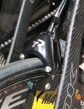 TriRig continues to sponsor Cofidis with their aero brakes