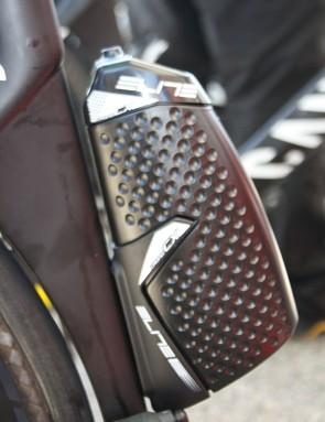 Katusha's Joaquim Rodriguez's Canyon carried a shaped Elite Kit Chrono CX bottle and cage