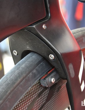 Is it a fairing over the front brakes or not on the Canyon Speedmax Evo? UCI says no - fairings are allowed in the brake area under certain restrictions
