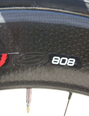 It was a perfect TT day and Zipp 808s were the Omega Pharma's weapon of choice on the front