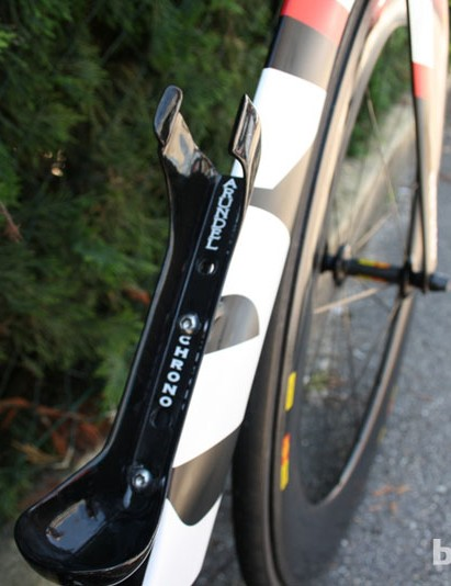 Arundel is a small company making high end knick-knacks - bottle cages, bar tape saddle packs and the like. Garmin-Sharp use their Chrono cages and matching bottle weighing 120g