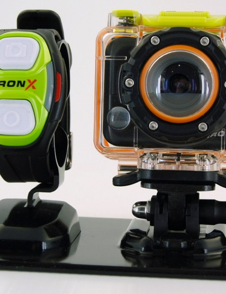 The US$249 IronX and its wrist-mount remote
