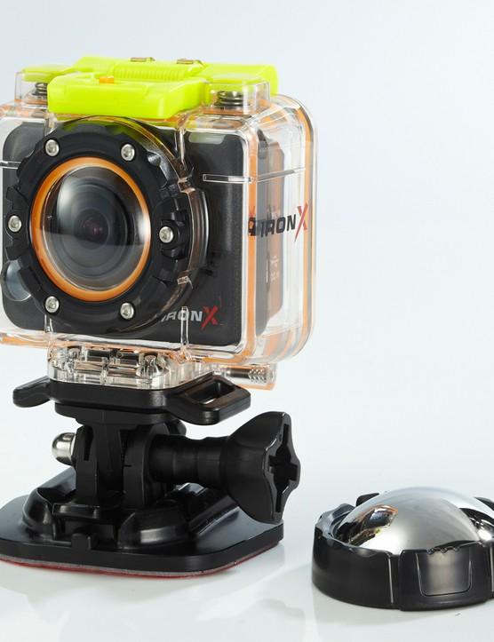 The fisheye lens boasts 170-degree capture