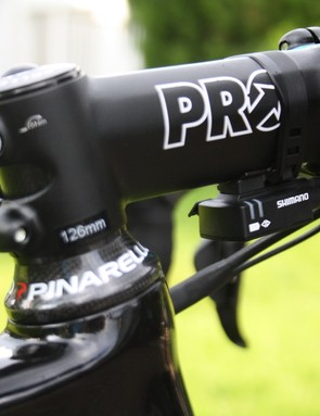 Shimano's subsidiary component maker Pro makes Sky's stem and bar combinations