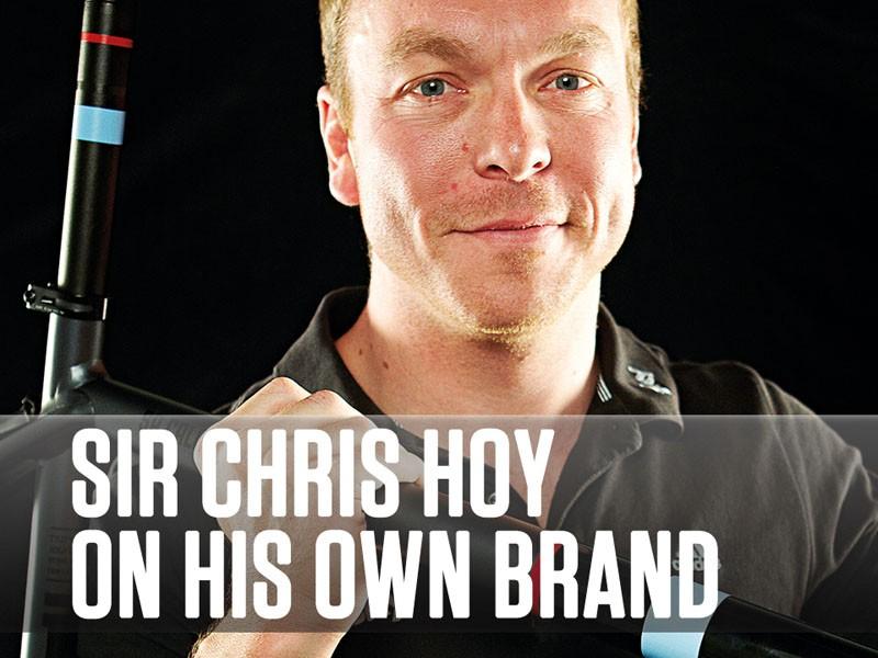 Sir Chris Hoy talks about HOY Bikes - his own brand of road bikes