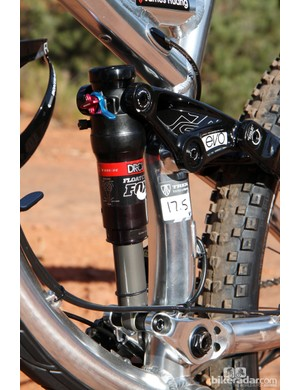 Trek's Full Floater concept uses dual dynamic shock mounts for a more finely tuned spring rate