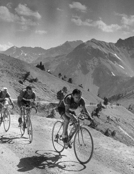 The majesty of the Alps in July has alwasy been central to the Tour's drama