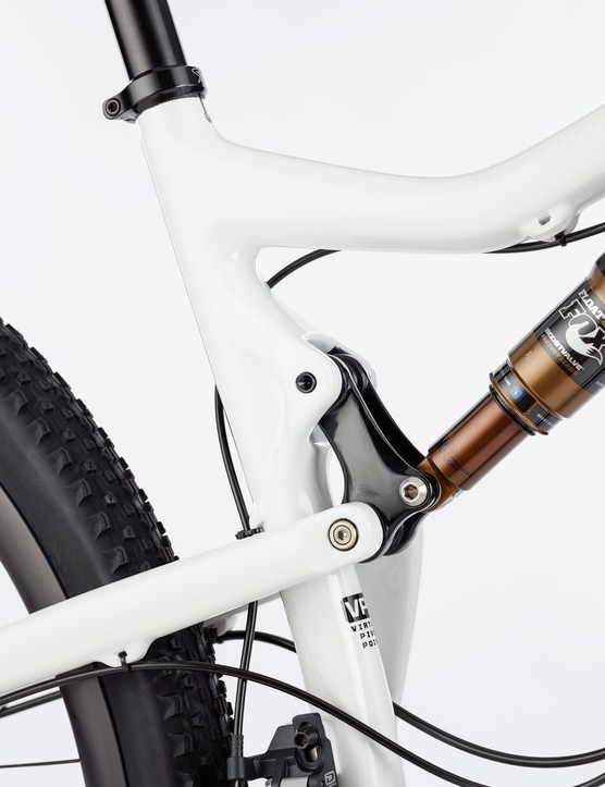 The new linkage hardware is entirely alloy and has been designed with UK mud in mind