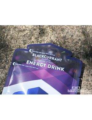The drink sachet packet has two tear options too: for narrow or wide necked bottles