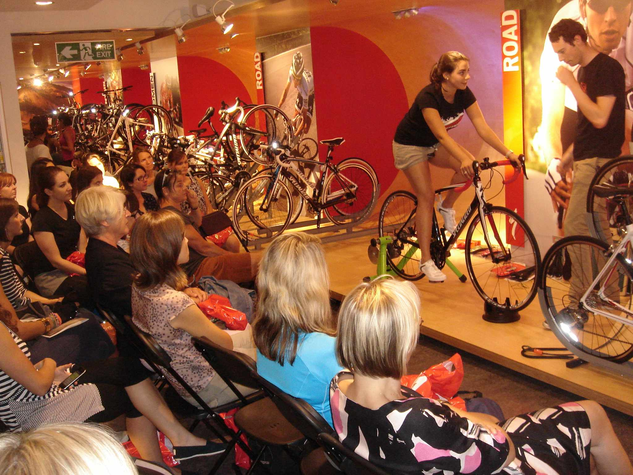 London bike chain Cycle Surgery are hosting a series of women's only evenings in June and July