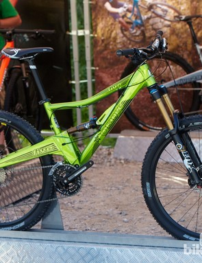 Orange were showing off its new 650b (27.7in) Five. This means the Five now comes in all three wheel size flavours!