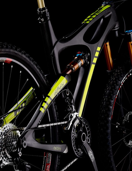The Ibis Mojo HDR and HDR 650b share the same frame