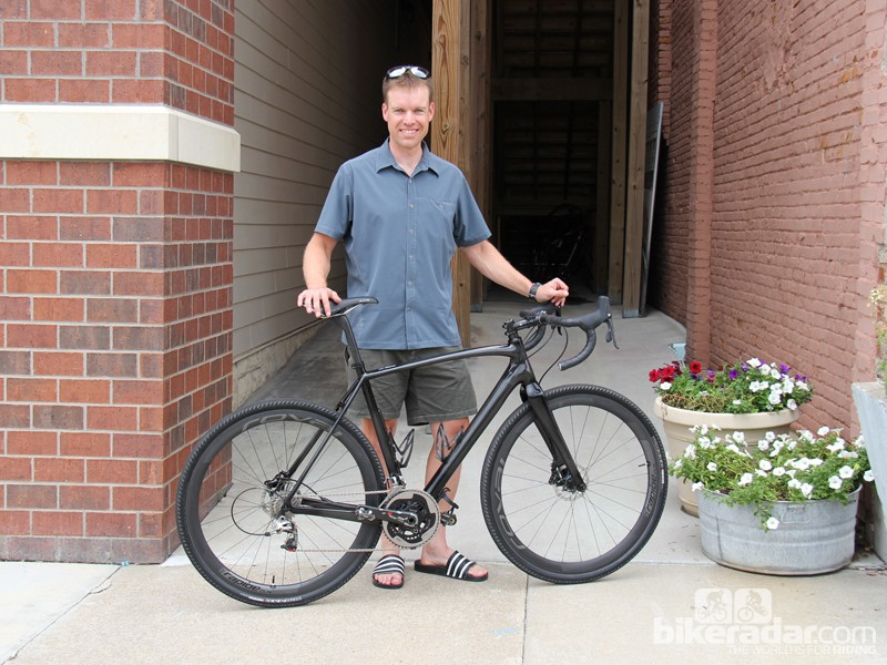 Dan Hughes is the reigning Dirty Kanza 200 champion, finishing this year's race in 12:03:39.  His weapon of choice was a Specialized CruX Carbon. Hughes thinks a well-designed 'cross bike makes an ideal gravel race rig