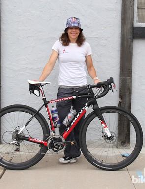 Women's DK200 champ Rebecca Rusch also rode a CruX