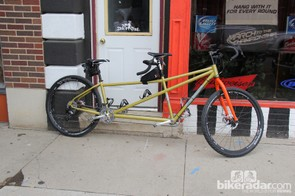 This Salsa Cycles Fargo tandem is one of a few in existence