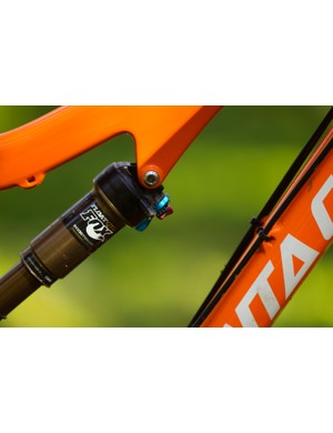 The Fox CTD shock offers convenient and useful compression adjustment