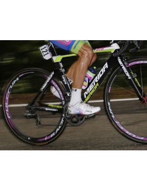 Lampre-Merida has been racing the Racing Speed 35s already this season