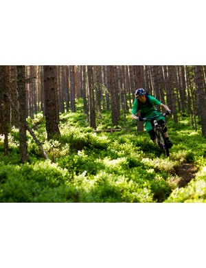 Scotland's loam soil allowed for plenty of loose fun