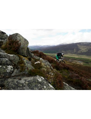 Scotland's mixed terrain proved the perfect testing ground for the Tallboy 2