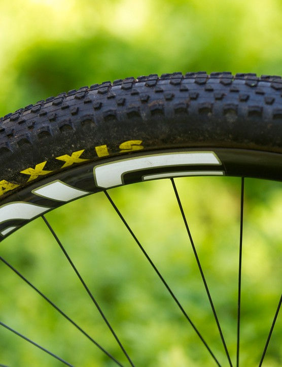 Maxxis Ikon tyres were disappointingly puncture prone