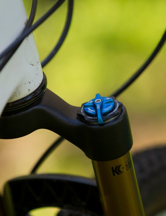Fox's Float CTD fork offers more support in Trail mode