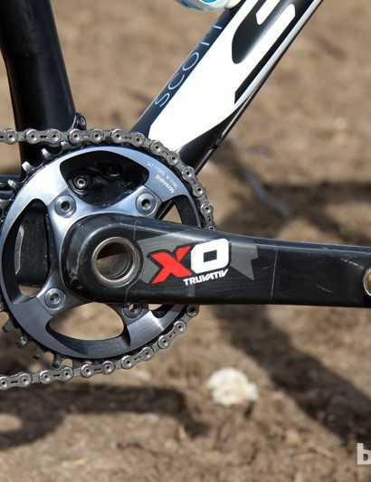 Judy Freeman (crankbrothers Race Club) shortened her crank arms to just 165mm earlier this year, after a fit session with Todd Carver of Retül, but has since reverted to 170mm SRAM XX1 arms
