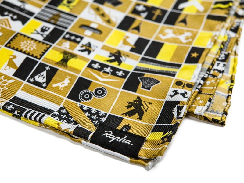 Rapha La Centième silk scarf