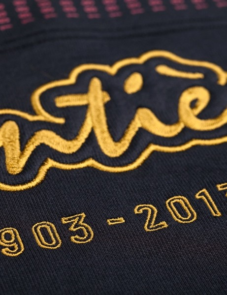 Rapha's La Centième Collection celebrates the 100th running of the Tour de France (years were missed during the two World Wars)