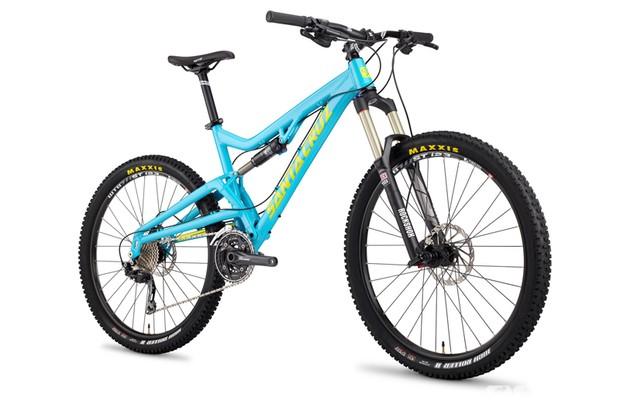 "The Santa Cruz Heckler aka ""the bike that won't die"", now sports 650B (27.5in) wheels and geometry that mimics the Santa Cruz Bronson"