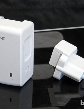 Heading overseas? Lezyne has a trick international power adapter available, too