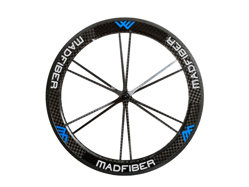 The Road.2 wheelset can be special ordered in several custom color combinations