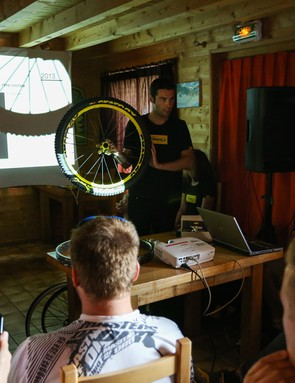 Talking us through the new Mavic Crossmax WTS