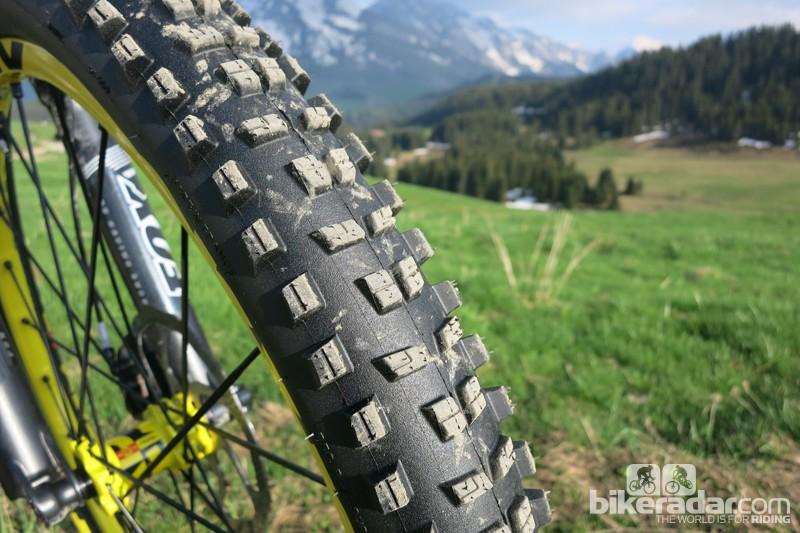 Mavic Crossmax WTS front wheel and tyre